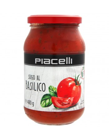 Piacelli sugo al basilico 400G