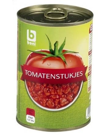 Boni tomates concassées 400G