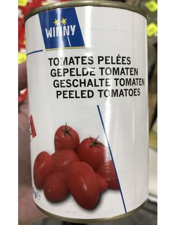 Winny tomates pelées 400G