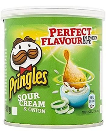 Pringles Cream Onion 40g