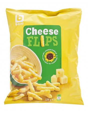 Boni Cheese Flips 125g