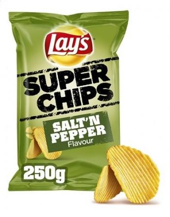 Lays Super Chips sel et...