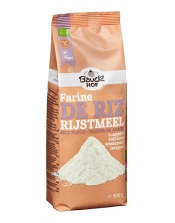 BauckHof Farine de riz 500g
