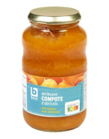 Boni compote d'abricots 580g