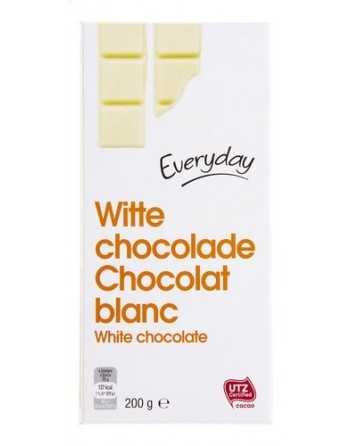 Everyday Chocolat blanc 200g