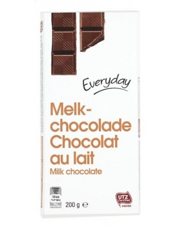 Everyday Chocolat au lait 200g