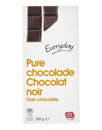 Everyday Chocolat noir 200g