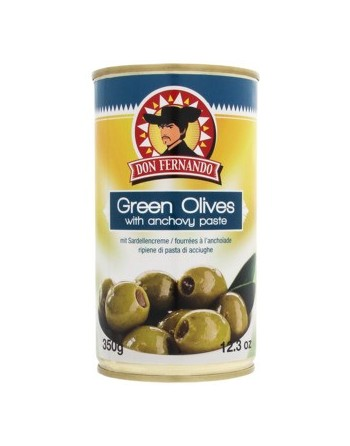 Don Fernando Green Olives 350G
