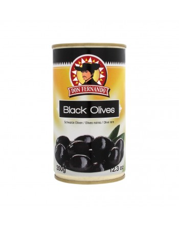 Don Fernando Black Olives 350G