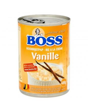 Boss Riz à la crème vanille...