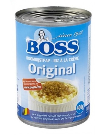 Boss Riz à la crème...