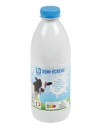 Boni lait demi-écrémé 500ml