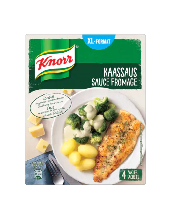 Knorr Sauce Fromage 4x28G