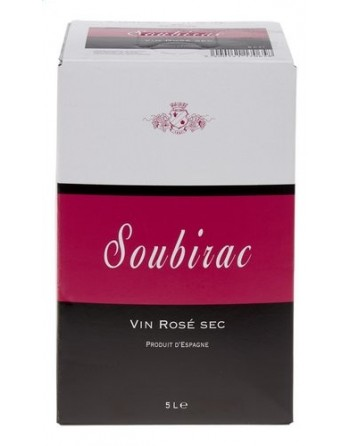 Soubirac Rosé Sec 5L