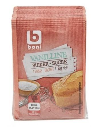 Boni sucre vanillé 15x8g