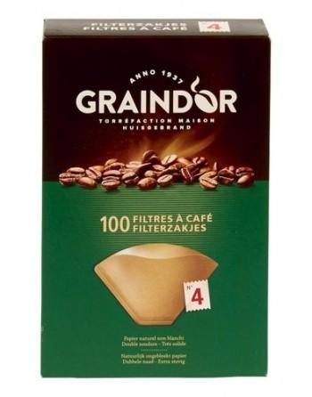Graindor Filtres a café n°4...