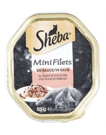 Sheba mini filets bœuf et...