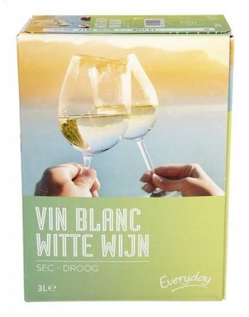 Everyday Vin blanc Sec 5L