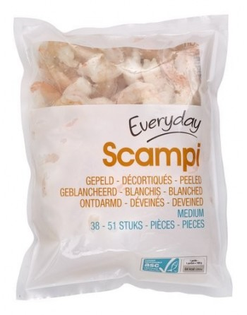 Everyday Scampis 500gr