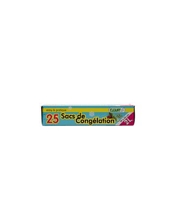 Cleany Sacs de Congélation x25
