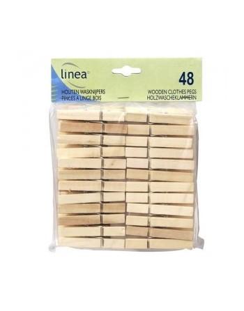 Linea Pinces à Linges bois...