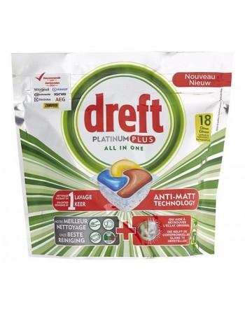Dreft Platinum Citron 18pc...
