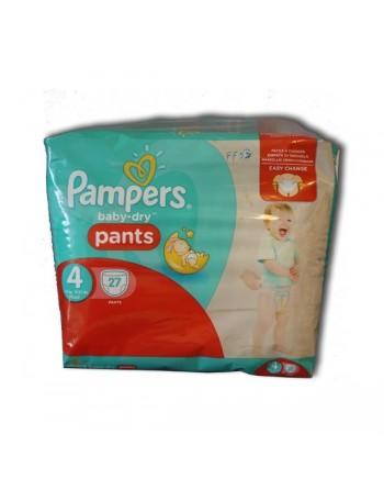 Pampers Pants N4 27pc