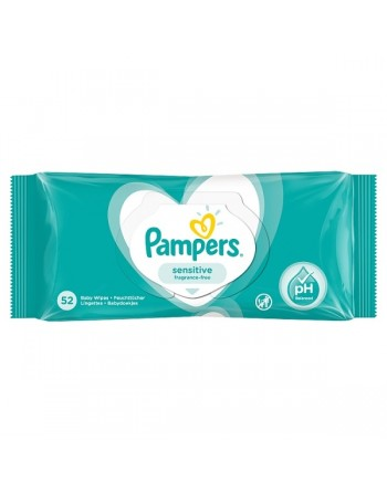 Pampers Sensitive 52pc