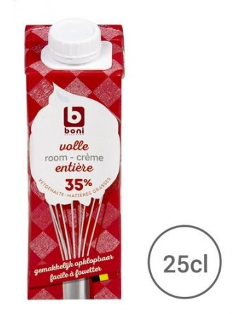Boni Crème Entière 35% 25cl
