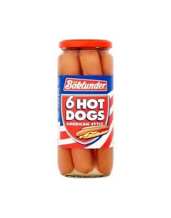 Böklunder 6 hot dogs