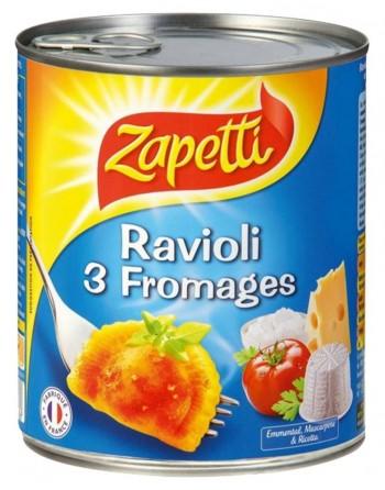 Zapetti ravioli 3 fromages...