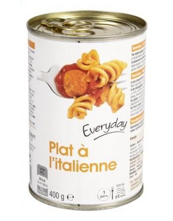 Everyday plat à l'italienne...